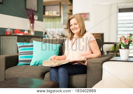 Mother Proud Of Her Family Pictures