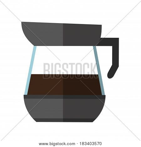 kettle coffee related icon image vector illustration design