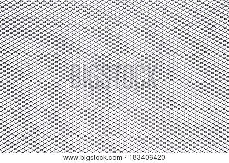 Lattice background black and white, grid texture