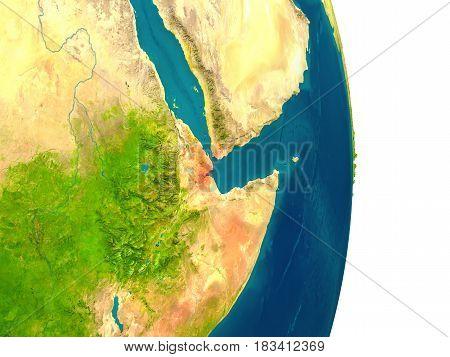 Djibouti On Planet