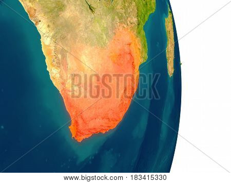 South Africa On Planet
