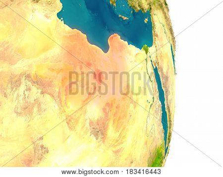 Libya On Planet