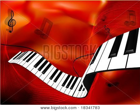 Music background. Vector