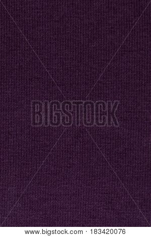 Close up of purple fabric