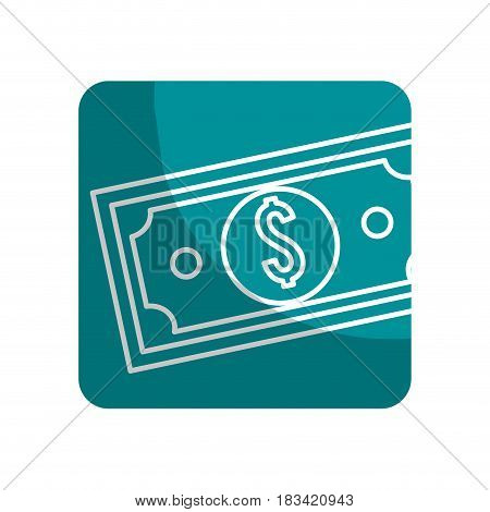 logotype bill dolar money, vector illustration design