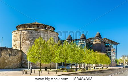 Chateau du Ha, an ancient fortress in Bordeaux - France, Gironde