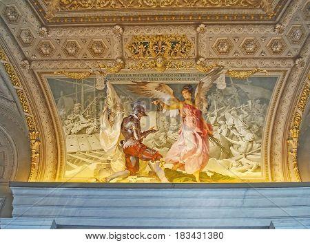 Frescoes Of Walls