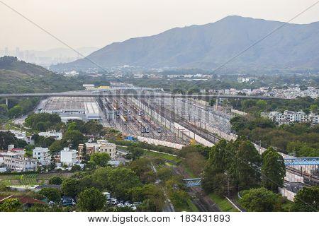 railway station in hong kong
