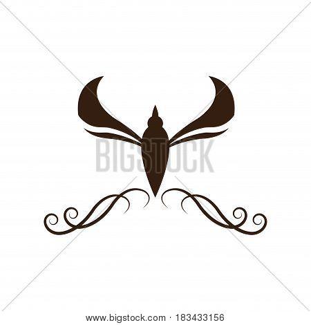 vintage decoration element ornate image vector illustration