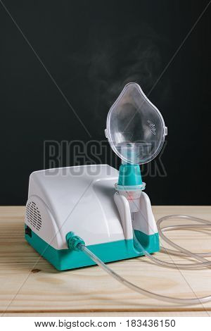 Close Up Of Domestic Inhaler / Nebulizer