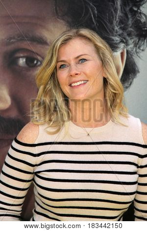 LOS ANGELES - APR 24:  Alison Sweeney at the National Geographic's
