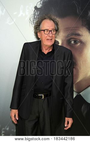 LOS ANGELES - APR 24:  Geoffrey Rush at the National Geographic's
