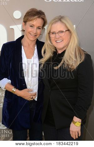 LOS ANGELES - APR 24:  Gabrielle Carteris, Nancy Cartwright at the National Geographic's