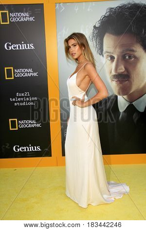 LOS ANGELES - APR 24:  Kara del Toro at the National Geographic's