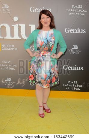 LOS ANGELES - APR 24:  Kate Flannery at the National Geographic's
