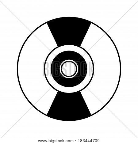 compact disk isolated icon vector illustration design