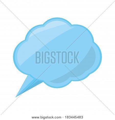 Think bubble symbol icon vector illustration graphic design