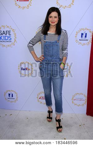 LOS ANGELES - APR 23:  Jennifer Marsala at the Safe Kids Day at the Smashbox Studios on April 23, 2017 in Culver City, CA