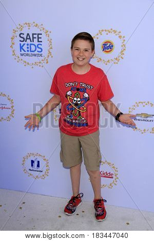 LOS ANGELES - APR 23:  Jet Jurgensmeyer at the Safe Kids Day at the Smashbox Studios on April 23, 2017 in Culver City, CA