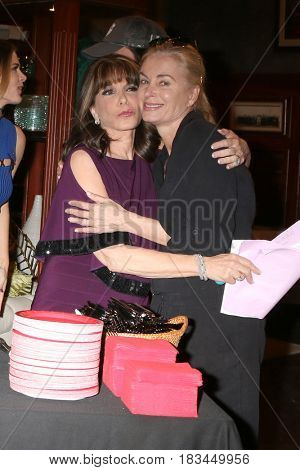 LOS ANGELES - APR 19:  Kate Linder, Eileen Davidson at the Kate Linder 35 Years on The Young and The Restless Celebration at CBS Television City on April 19, 2017 in Los Angeles, CA