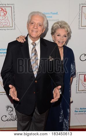 LOS ANGELES - APR 23:  Bill Hayes, Susan Seaforth Hayes at the Professional Dancers Society's 30th Gypsy Awards at the Beverly Hilton Hotel on April 23, 2017 in Beverly Hills, CA