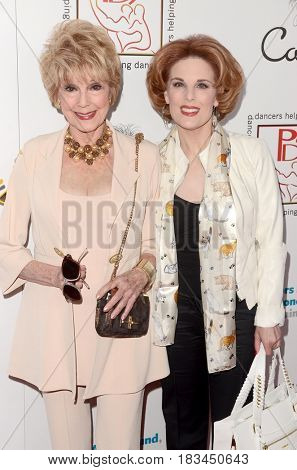 LOS ANGELES - APR 23:  Karen Sharpe Kramer, Kat Kramer at the Professional Dancers Society's 30th Gypsy Awards at the Beverly Hilton Hotel on April 23, 2017 in Beverly Hills, CA