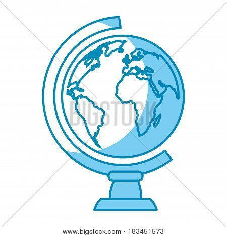 geography tool icon over white background. vector illustration