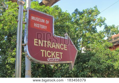 HO CHI MINH CITY VIETNAM - NOVEMBER 29, 2016: Museum of Vietnamese History. Museum of Vietnamese History showcases Vietnam's history with exhibits from all periods.