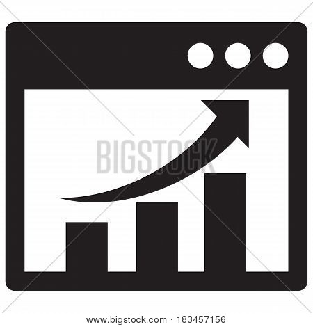 Graph Diagram Icons Computer Icon Growth Analyzing Big Data Chart