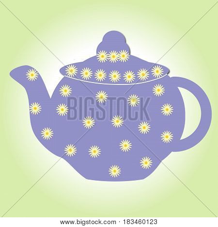 tea teapot drink pot kettle isolated china cup porcelain breakfast white antique beverage ceramic cafe hot card