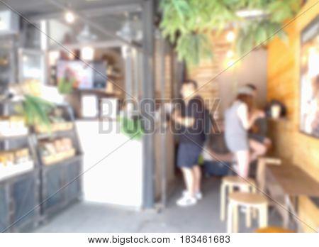 Blurred Photo, Blurry Image, Coffee Shop, Background