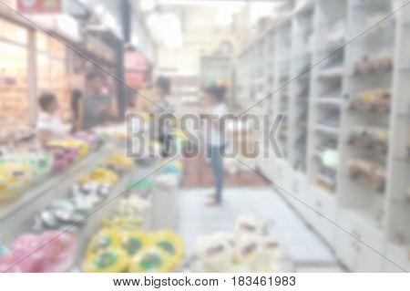 Blurred Photo, Blurry Image, Gift Shop, Background