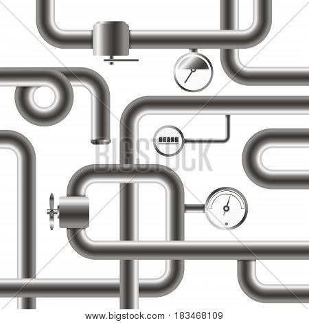 Pipeline system for water and plumbing design
