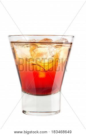 Strong Alcoholic Drink With Ice On