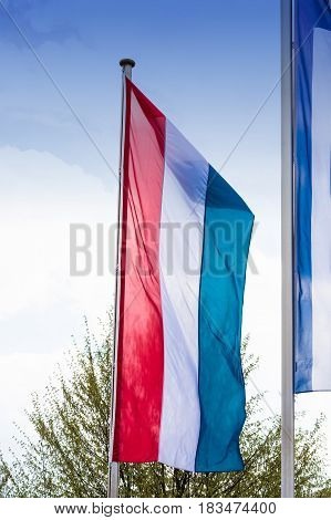 National flag of the Netherlands flag of Holland.