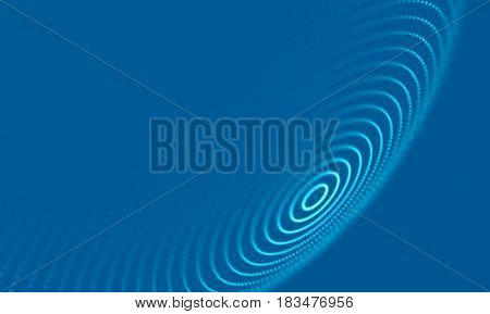 Abstract Geometrical Background ..Futuristic technology style. Neon Sign . Futuristic Technology HUD Element . Elegant Abstract background . Big data .