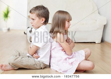 Conflict between the brother and sister