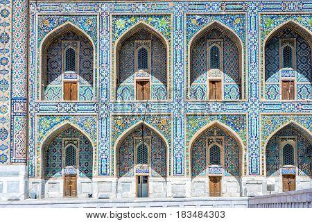 Colorful Exterior, Samarkand Registan