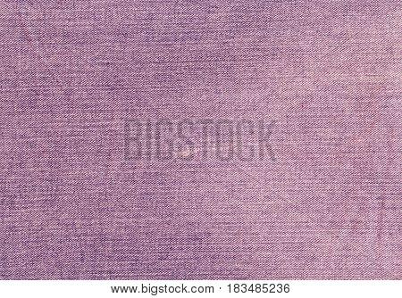 Red Color Jeans Textile Texture.