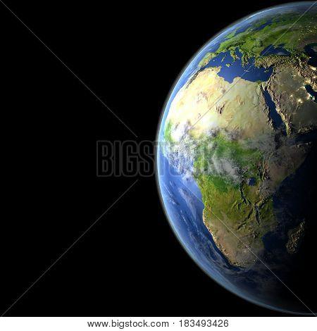 Africa From Orbit