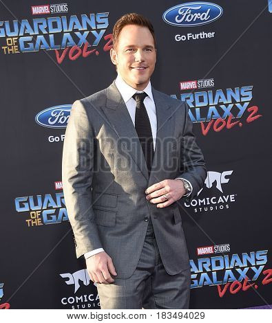 LOS ANGELES - APR 19:  Chris Pratt arrives for the