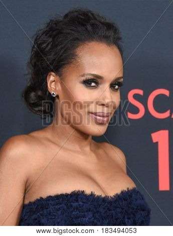 LOS ANGELES - APR 08:  Kerry Washington arrives to the