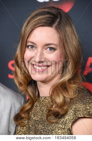 LOS ANGELES - APR 08:  Zoe Perry arrives to the