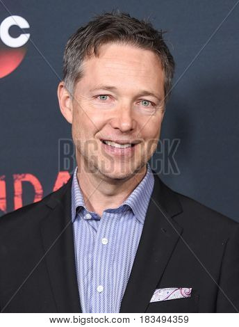LOS ANGELES - APR 08:  George Newbern arrives to the