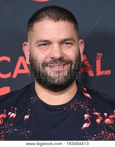 LOS ANGELES - APR 08:  Guillermo Diaz arrives to the