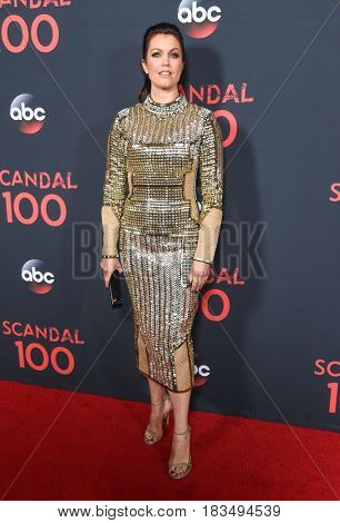 LOS ANGELES - APR 08:  Bellamy Young arrives to the