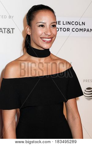 NEW YORK, NY - APRIL 24: Taylor Rae Almonte attends 'The Dinner' Premiere at BMCC Tribeca PAC on April 24, 2017 in New York City