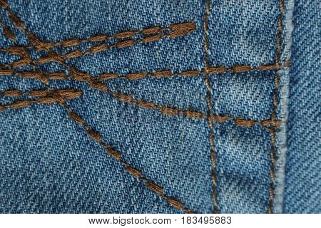 Blue jeans detail/This is a texture blue jeans.