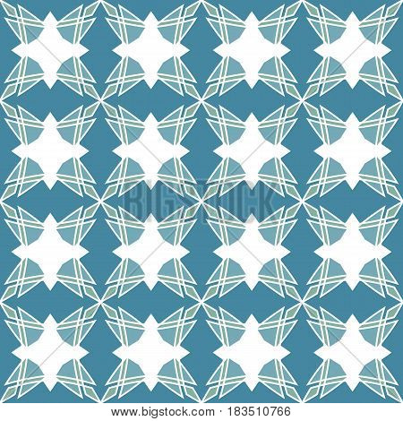Geometrical mosaic pattern. Seamless texture suitable for decoration and printing of packages, paperhangings, gift wrapping or just for decoration. Vector illustration