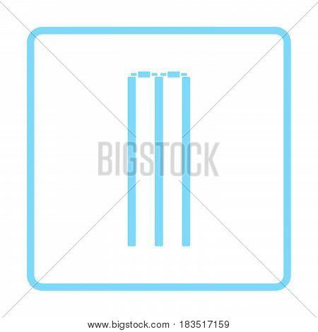 Cricket Wicket Icon